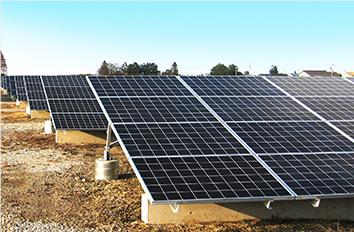 遊休地を活用した太陽光発電