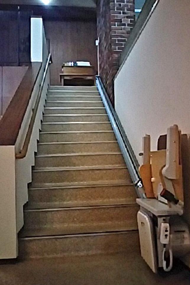 階段昇降機 長野市W様邸