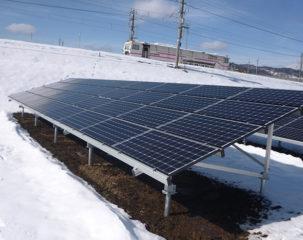 太陽光発電設置 長野市H様