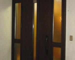玄関ドアのリフォーム 長野市K様邸