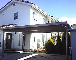 カーポートの設置 須坂市K様邸