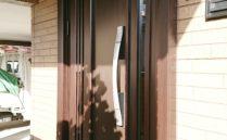 1日で工事が完了!玄関ドアリフォーム